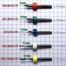 Фреза для ЧПУ HRC65 для блестящего бокового реза оргстекла, пластика. Фрезы одноперьвеые (однозубые, однозаходные) и двухперьевые (двухзубые, двухперые)