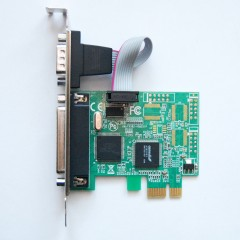 Контроллер расширения PCI-E - LPT+COM