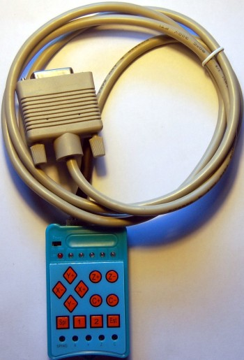 Пульты для 3-х и 4-х осевого контроллера