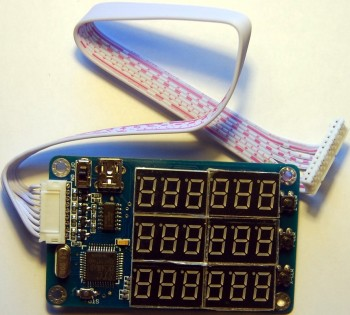 Дисплеи для 3-х и 4-х осевого контроллера